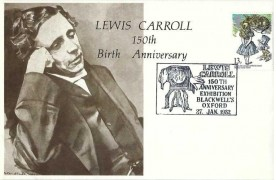 1982 Hawkwood Cover, Lewis Carroll 150th Anniversary Exhibition Blackwell's Oxford H/S
