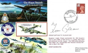 1990 50th Anniversary of the Battle of Britain Commemorative Cover, 50th Anniversary of the Battle of Britain British Forces 2232 Post Services H/S