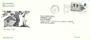 1969 Notable Anniversaries, Rural Oxted FDC, 5d stamp Only, First Day of Issue London SE1 Slogan