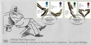 1998 National Health Service, Havering Official FDC, William Ewart Gladstone Liberal Reformer Prime Minister Westminster H/S