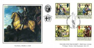 1992 English Civil War, Covercraft Official FDC, English Civil War Society Hull H/S