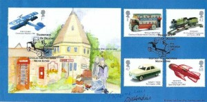 2003 Transports of Delight, Bletchley Park Official FDC, Transports of Delight Bletchley Park Post Office Milton Keynes H/S, signed by Mark Cornelius