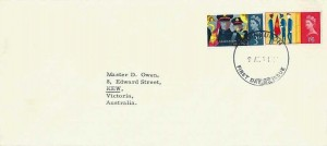1965 Salvation Army, University of Edinburgh Envelope FDC, Edinburgh FDI
