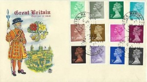 1971 QEII First Decimal Low Value Definitive,Stuart FDC, Manea March Cambs.cds