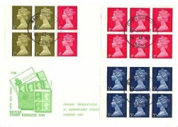 1969 10/- Mary Kingsley Booklet 3 Panes, Philart FDC, Canterbury Kent cds
