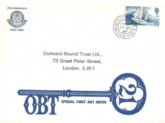 1967 Sir Francis Chichester, Outward Bound Trust Ltd FDC, House of Commons SW1 cds