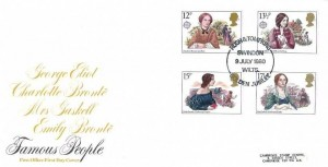1980 Famous People, Post Office FDC, Rush & Tompkins Golden Jubilee Swindon Wilts.H/S