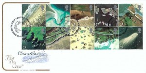 2002 Britain's Coastlines, Cotswold FDC, First Day of Issue Poolewe Achnasheen H/S