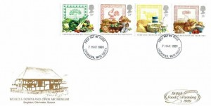 1989 Food & Farming Year, Weald & Downland Museum FDC, Chichester West Sussex FDI
