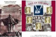 2005 End of the War, GBCovers GBDW7 Official FDC, Wall End Road London E6 H/S