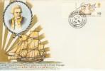 1968 British Anniversaries Connoisseur Captain Cook FDC, Cookham Rd. cds
