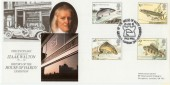 1983 British River Fish Hawkwood Official FDC, History of The House of Hardy Exhibition Pall Mall London SW1 H/S