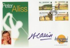1997 Isle of Man Westminster Golf FDC. Signed by Peter Alliss
