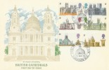 1969 British Cathedrals Cameo FDC with Philatex St. Paul's London EC H/S