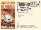 1969 Notable Anniversaries Hoverlloyd Official FDC, Pegwell Bay Ramsgate H/S