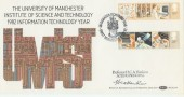 1982 InformationTechnology Benham BOCS(2)14 Official FDC. Signed by Prof. H Hankins