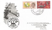 1963 Nature Week Ordinary set, BPA/PTS FDC, Brownsea Island Opening Week Poole H/S