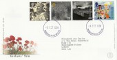 1999 Soldiers' Tale Royal Mail FDC. Buckingham Palace cds