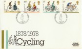 1978 Cycling Centenary, Colchester Searchlight Tattoo H/S, on PO FDC