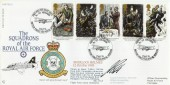 1993 Sherlock Holmes, RAF FDC 15 Official FDC.First Into the Night Skies No.100 Squadron H/S, Signed
