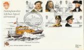 1982 Maritime Heritage, Pilgrim Official RNLI FDC