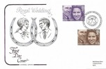 1973 Royal Wedding Cotswold FDC, Great Somerford Chippenham H/S