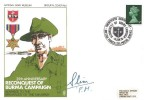 1970 25th Anniversary of Reconquest of Burma Campaign, Signed Field Marshall Slim