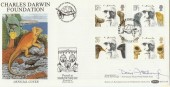 1982 Darwin, Benham BOCS(2)9 FDC, Signed by David Attenborough