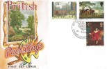 1967 Paintings,  Connoisseur FDC, Art on Stamps Exhibition London WC2 H/S