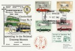 1982 British Motor Cars, Chesterfield Transport Centenary Dawn Official FDC
