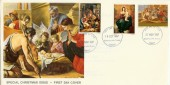 1967 Christmas 4d, Doubled dated with 3d & 1/6d, Christian Action FDC