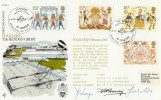 1981 Folklore, RAF Museum RFDC1 Hendon Ghost Official FDC, Signed