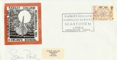 1981 Folklore, Radley College Official FDC, signed by Simon Preston, Conductor
