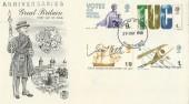 1968 British Anniversaries, Stuart FDC, Manchester FDI