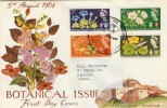 1964 Botanical Congress FDC, 10th International Botanical Congress Edinburgh H/S, Rare