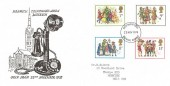 1978 Christmas, Special Norwich Telephone Museum FDC, Norwich Norfolk FDI