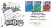 1973 European Communities, Mercury FDC, Royal Engineers Brennan Torpedo H/S