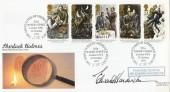1993 Sherlock Holmes, Royal Mail FDC, 221a Baker Street NW1 H/S, Signed by Edward Hardwicke.