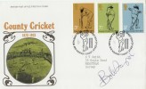 1973 County Cricket, PO FDC, London NW H/S, Signed by Bob Taylor