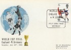 1966 World Cup Final, England v West Germany Match Card, Wembley H/S