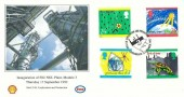 1992 Green Issue Shell UK Exploration & Production, Cowdenbeath Official FDC, Shell UK Exploration & Production Cowdenbeath H/S