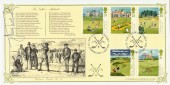1994 Golf, Bradbury VP87 Official FDC, Signed by Jimmy Tarbuck
