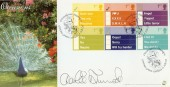 2003 Occasions, Bradbury Sovereign No.25 Official FDC, Signed by Charlie Dimmock