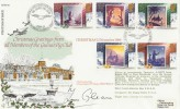 1988 Christmas, RFDC 67 Official FDC, Christmas Greetings from the Guinea Pig Club, Signed