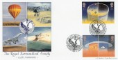 1991  Europe in Space, The Royal Aeronautical Society, Bradbury Official FDC