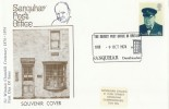 1974 Winston Churchill, Sanquhar Post Office Official FDC