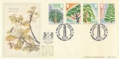 1990 Kew Gardens, Bradbury Official LFDC 88 FDC, Royal Botanical Gardens Kew Richmond Surrey Given to the Nation by Queen Victoria in 1840 H/S