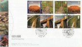 2005 World Heritage Sites, Joint Issue with Australia Pair of Royal Mail / Australia Post FDC