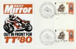 1980 Isle of Man TT Motorcycle Race Privately Produced Cover