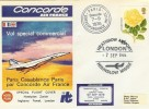 1976 Concorde Special Flight Cover, Paris Casablanca Paris Heathrow Airport H/S